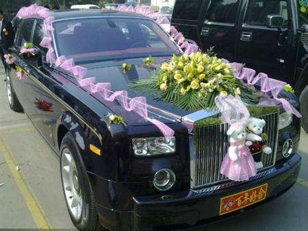 劳斯莱斯古斯特  婚车  5  面议 郑州四海(中国)汽车租赁有限